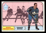 1968-69 Topps #125 Marcel Pronovost Very Good  ID: 307874