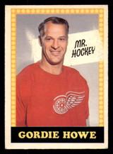 1969-70 O-Pee-Chee #193 Gordie Howe Poor OPC