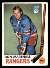 1969-70 Topps #39 Don Marshall Very Good