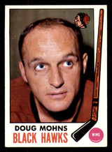 1969-70 Topps #72 Doug Mohns Excellent+  ID: 307932
