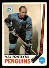 1969-70 Topps #119 Val Fonteyne Poor