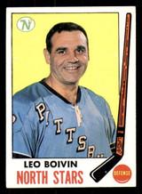 1969-70 Topps #122 Leo Boivin Ex-Mint