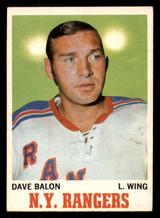 1970-71 O-Pee-Chee #61 Dave Balon Excellent OPC