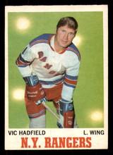 1970-71 O-Pee-Chee #62 Vic Hadfield Ex-Mint OPC