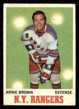 1970-71 O-Pee-Chee #66 Arnie Brown Excellent OPC