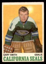 1970-71 O-Pee-Chee #69 Gary Smith Very Good OPC