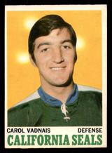 1970-71 O-Pee-Chee #70 Carol Vadnais Excellent+ OPC