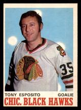 1970-71 O-Pee-Chee #153 Tony Esposito Ex-Mint OPC