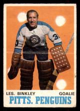 1970-71 O-Pee-Chee #200 Les Binkley G-VG OPC