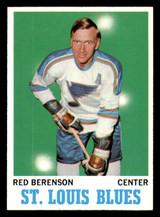 1970-71 Topps #103 Red Berenson Near Mint+  ID: 308101