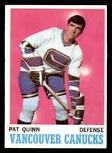 1970-71 Topps #120 Pat Quinn Ex-Mint