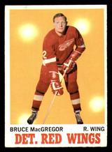 1970-71 Topps #27 Bruce MacGregor Very Good  ID: 308132
