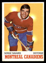 1970-71 Topps #51 Serge Savard Very Good