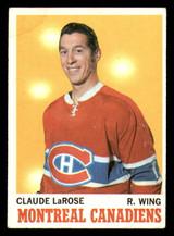 1970-71 Topps #56 Claude Larose Excellent+