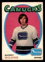 1971-72 O-Pee-Chee #230 Barry Wilkins Poor RC Rookie OPC