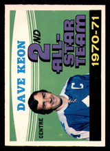 1971-72 O-Pee-Chee #259 Dave Keon AS Ex-Mint OPC