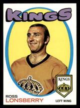 1971-72 Topps #121 Ross Lonsberry Near Mint  ID: 308337