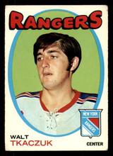 1971-72 Topps #75 Walt Tkaczuk Very Good