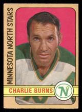 1972-73 O-Pee-Chee #178 Charlie Burns Very Good OPC