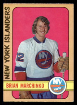 1972-73 O-Pee-Chee #179 Brian Marchinko Excellent+ RC Rookie OPC