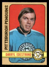 1972-73 O-Pee-Chee #195 Darryl Edestrand Excellent+ OPC