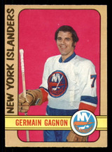 1972-73 O-Pee-Chee #200 Germain Gagnon Excellent RC Rookie OPC
