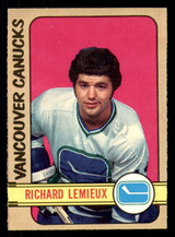 1972-73 O-Pee-Chee #202 Richard Lemieux Near Mint RC Rookie OPC