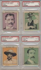 1935 R36 Cops & Robbers PSA Graded Lot 34/35 Last 1 RAW GPA 4.5 VG-EX  #*