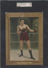1910-11 T9 Turkey Red #75 Philadelphia Jack O'Brien SGC 10 Poor 1   #*