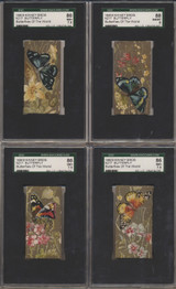 1880s N217 Butterfly (40 Of 60) Different SGC Graded GPA 5.75 EX+++With 9 RAW Makes 50/60  #*
