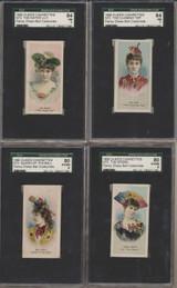 1889 N73 DUKES CIGARETTES FANCY DRESS BALL COSTUMES SGC GRADED GPA 50.76 EX  #*