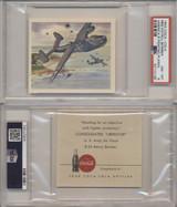 1942 F213-5 Coca-Cola America's Fighting Planes Set 20 PSA graded GPA 6.4 Ex-MT+  #*