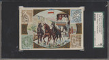 1900's Golden West K138 Mail Carriers & Stamps Algiers SGC 40 Vg 3   #*