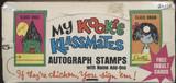 1968 Fleer My Kookie Klassmates 5 Cents Empty Display Box  #*
