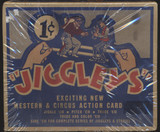 1950/51 Jiggleys Action Cards Empty Display Box 1 Cent  #*