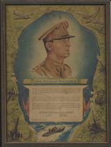 1942 Stornetta's Gold Medal Dairy Gen. Douglas MacArthur  #*