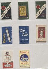 1930-1940's Cigarette Papers Lot 8  #*