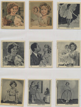 1930's Holland Shirley Temple Lot Lot 29 2 3/8 by 2 5/8 Inches  #*