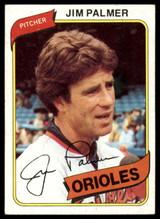 1980 Topps #590 Jim Palmer Near Mint  ID: 146040