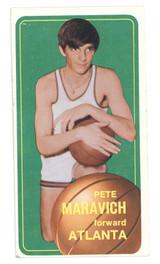1970-71 Topps #123 Pete Maravich Hawks VG-EX RC Rookie