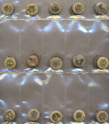 1911 Sweet Caporal Cigarette Pins 34  #*