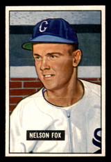 1951 Bowman #232 Nellie Fox Ex-Mint RC Rookie  ID: 308525
