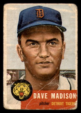 1953 Topps #99 Dave Madison Poor