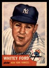 1953 Topps #207 Whitey Ford Ex-Mint