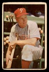 1953 Bowman Color #10 Richie Ashburn Poor