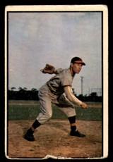 1953 Bowman Color #114 Bob Feller Poor
