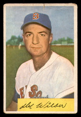 1954 Bowman #178 Del Wilber Poor  ID: 308562