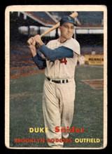 1957 Topps #170 Duke Snider Good  ID: 308655
