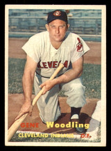 1957 Topps #172 Gene Woodling Excellent+  ID: 308656