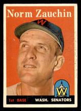 1958 Topps #422 Norm Zauchin Very Good  ID: 308716